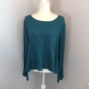NWOT Anthropologie Cloth & Stone Bell Blouse